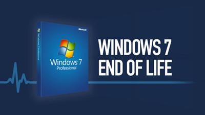Windows 7 stopt op 14/01/2020